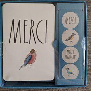 Rae Dunn Merci Card Set